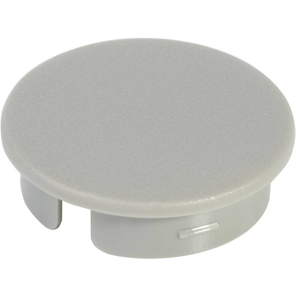 OKW Poklopac za okrugli gumb promjera 13, 5 mm Siva