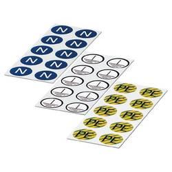 ETS-E - nalepka ETS-E bele barve Phoenix Contact vsebina: 100 kosov