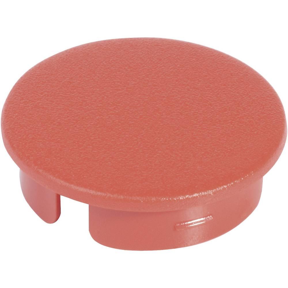 OKW Poklopac za okrugli gumb promjera 10 mm crvena