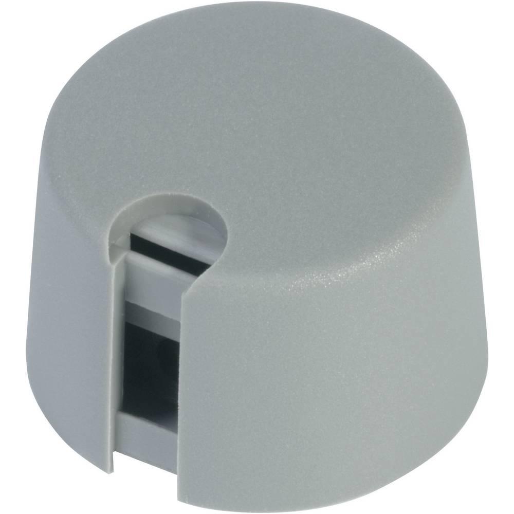 OKW Gumbi serije TOP-KNOBs sivi, promjer osi 6 mm