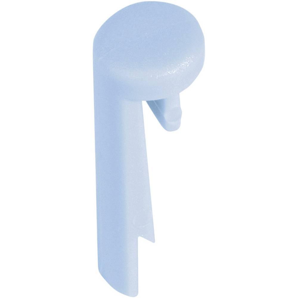OKW Element za označavanje Pinza gumb serije TOP-KNOBS plava