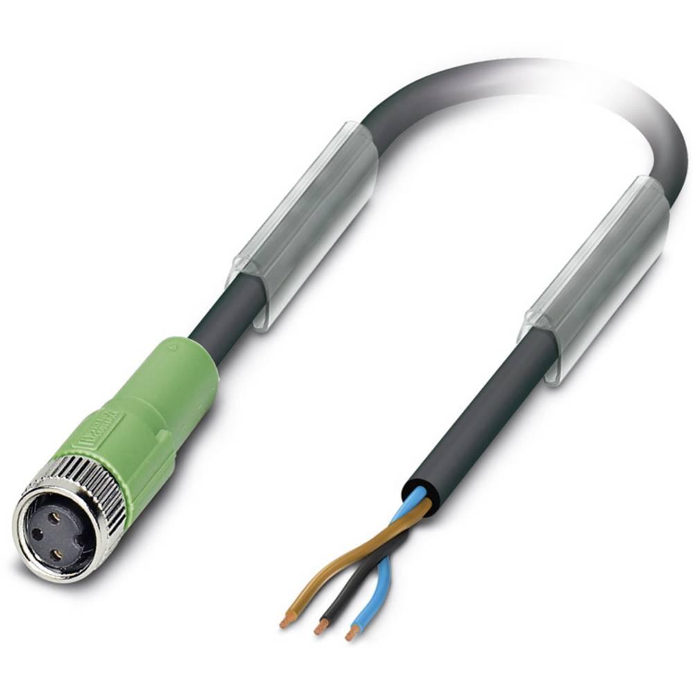 Sensor-, aktuator-stik, Phoenix Contact SAC-3P-M 8MS/ 2,0-280/M 8FS BK 1 stk