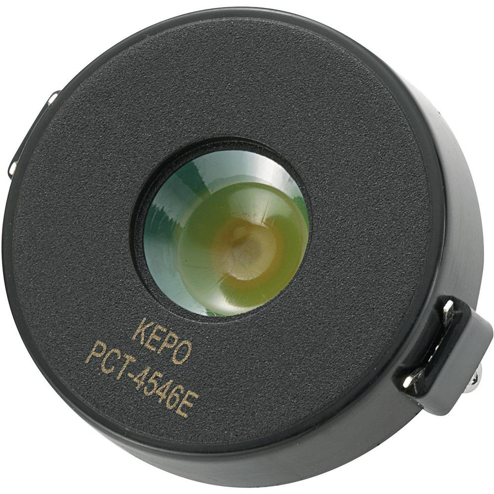 Piezo-alarm (value.1782093) Støjudvikling: 97 dB Spænding: 12 V KEPO PCT-G4546E-K8481 1 stk
