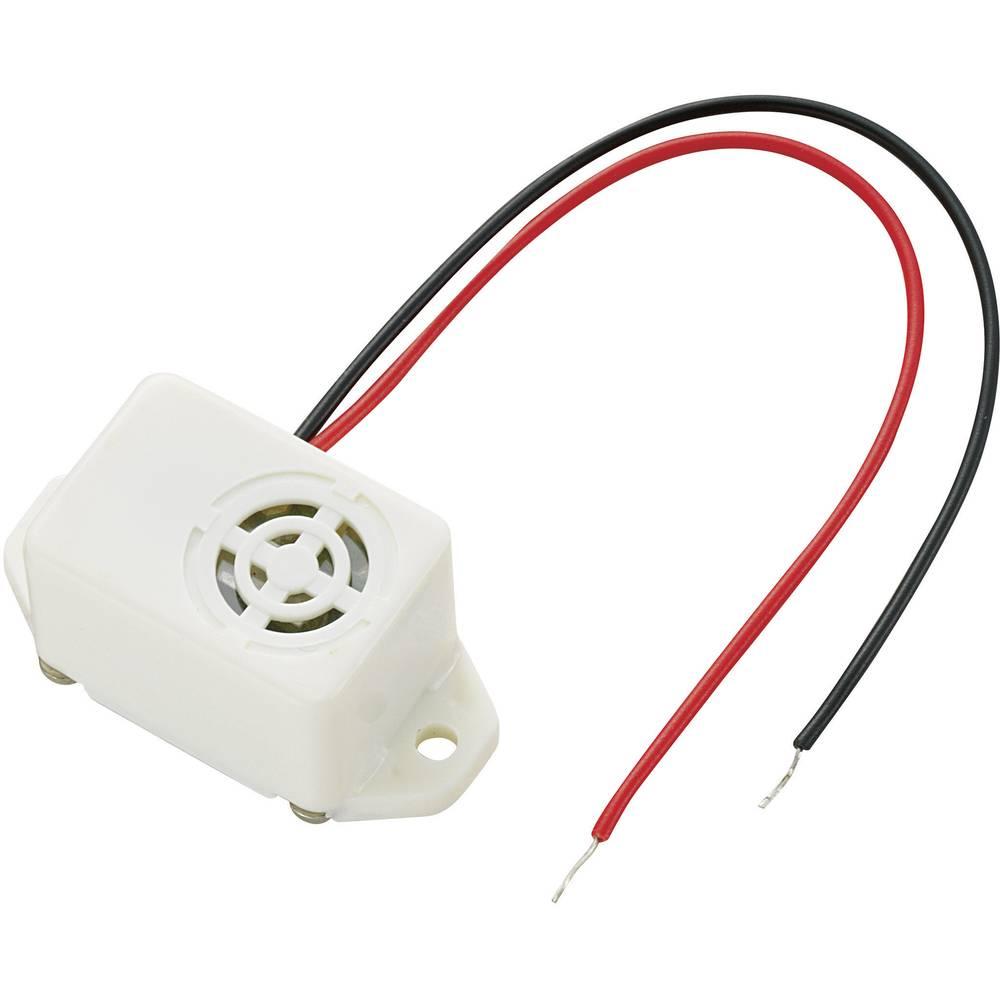 Miniature summer Støjudvikling: 75 dB Spænding: 9 V Kontinuerlig lyd (value.1730255) KEPO KPMB-G2209L-K6344 1 stk