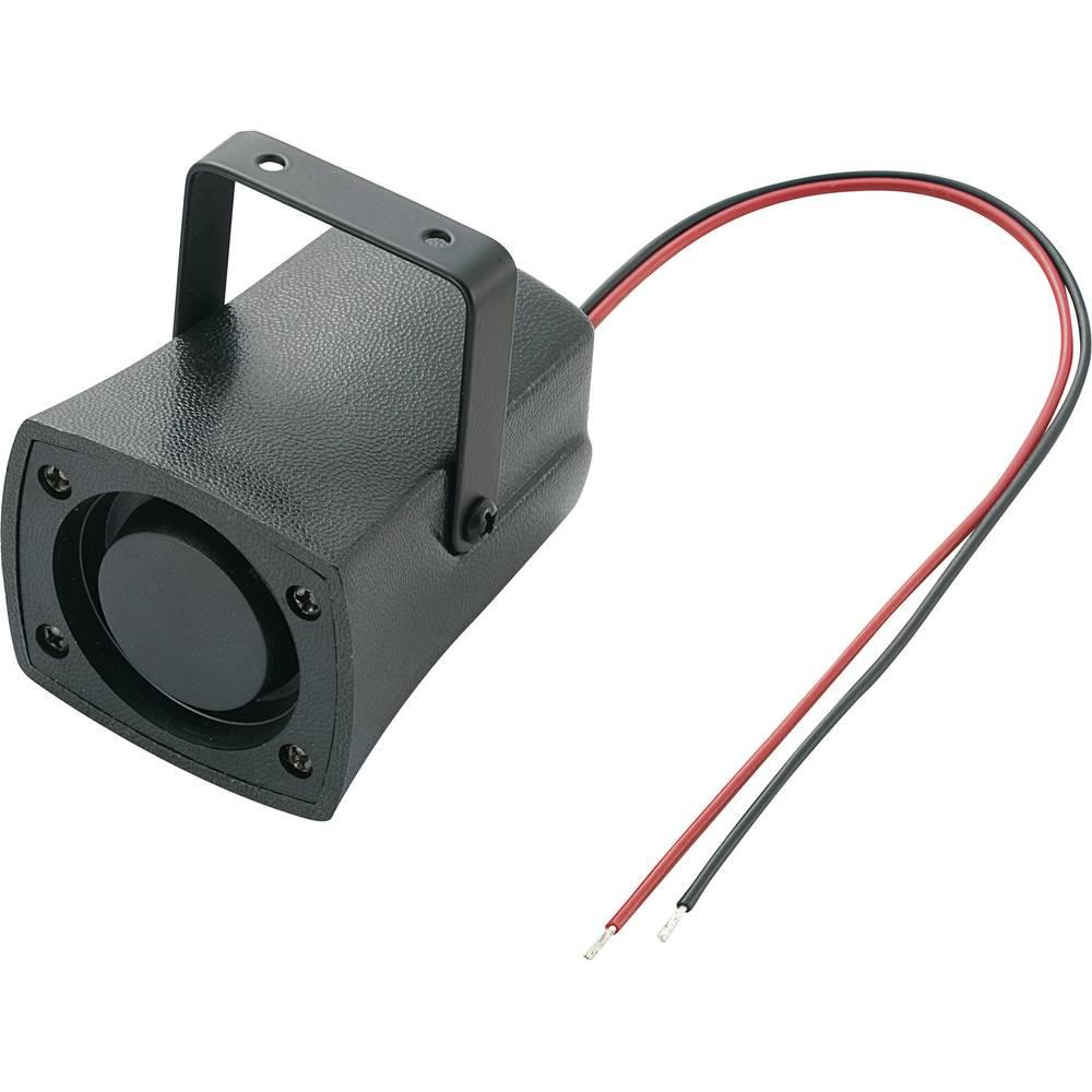 Piezo-Sirena KPS serije, glasnost: 105 dB 12 V/DC, sprejem el. toka: 200 mA 1,5 - 3,5 Hz.. KEPO