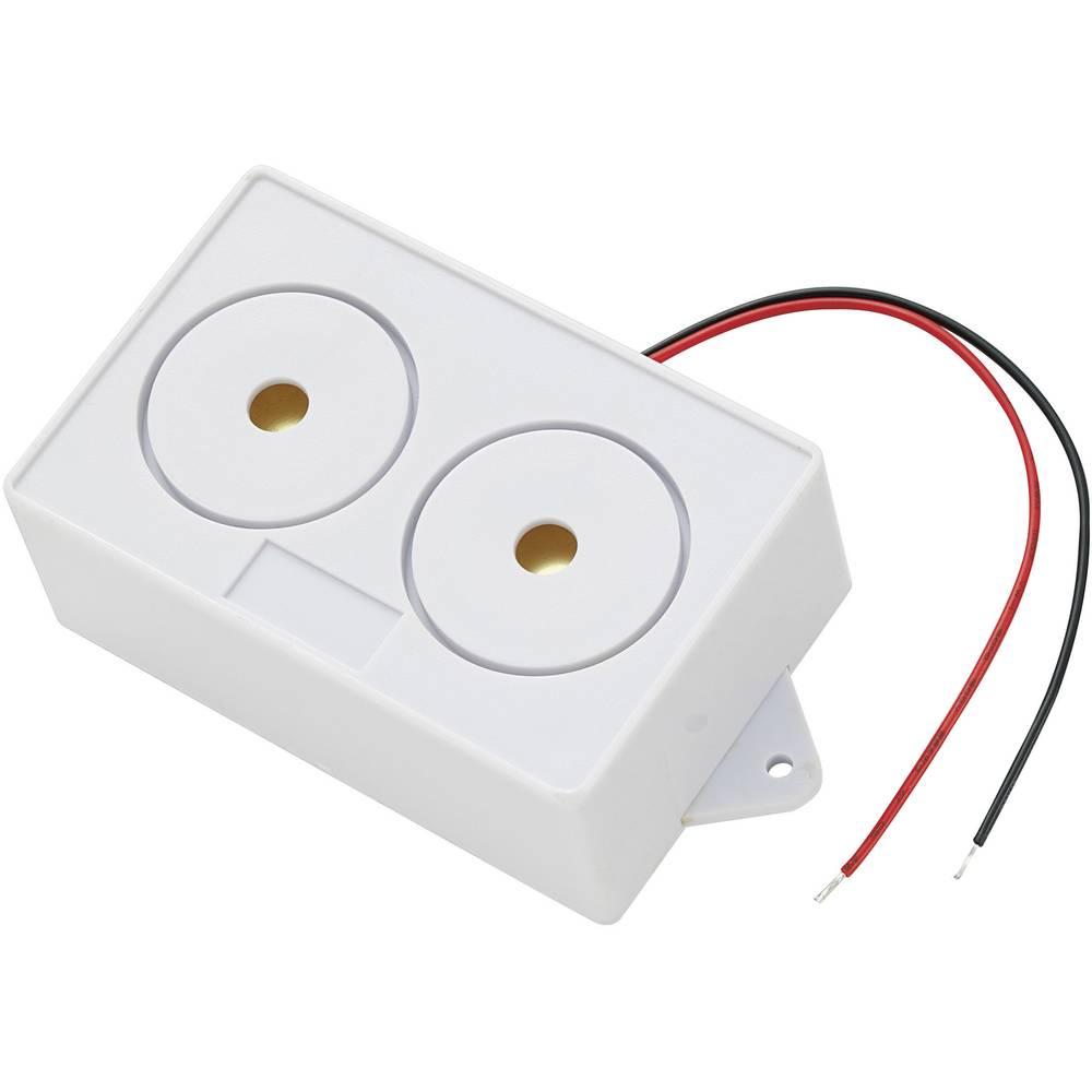Piezo sirena serije KPS, glasnoća: 106 dB, 12 V/DC KPS-G8555-1022 KEPO