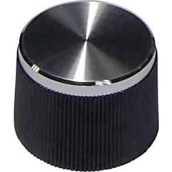 Vrtljivi gumb Črna (Ø x V) 21 mm x 15 mm TRU COMPONENTS 1 KOS