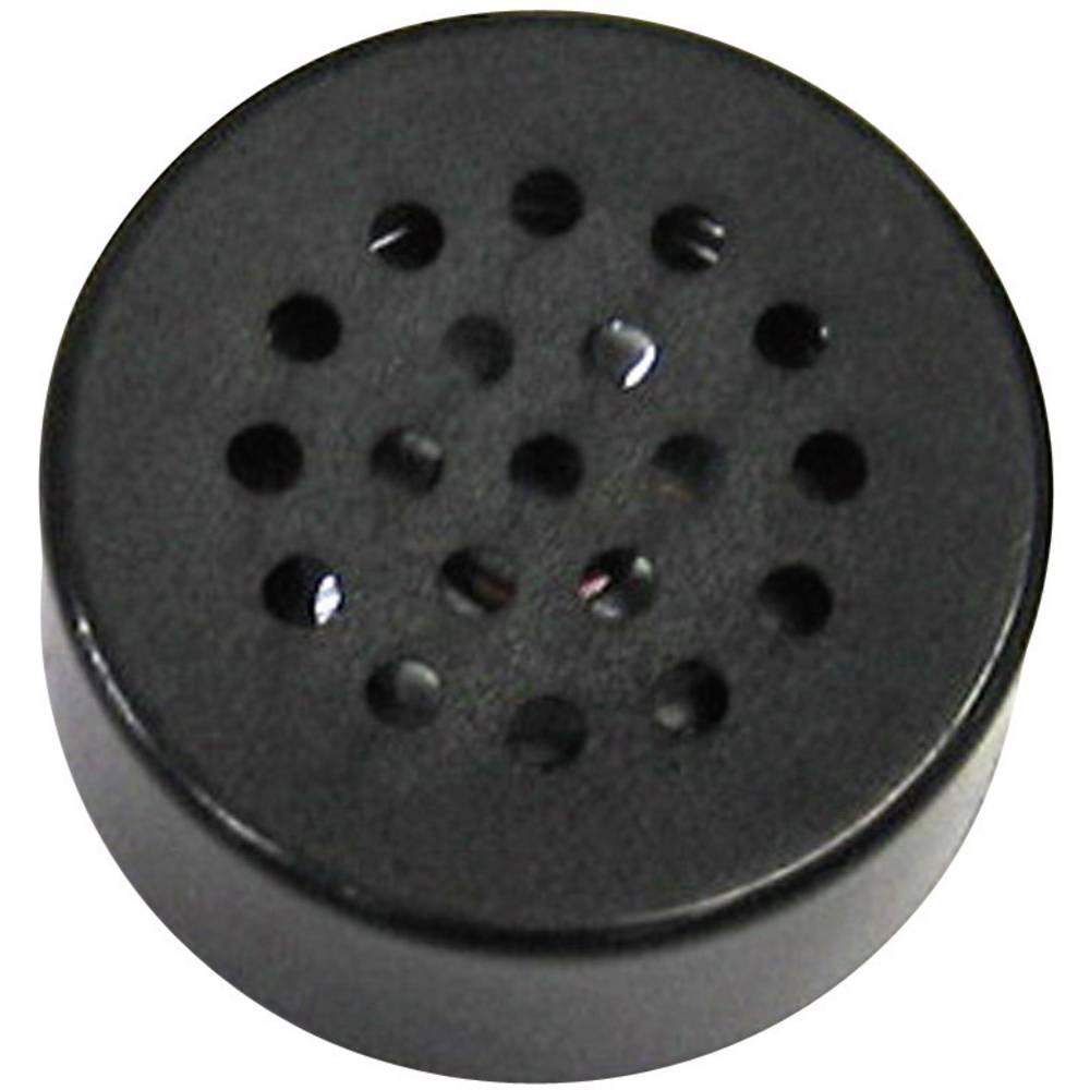 Miniaturni zvučnik, glasnoča:85 + 3 dB, nazivno opterečenje: 0, 3 dB