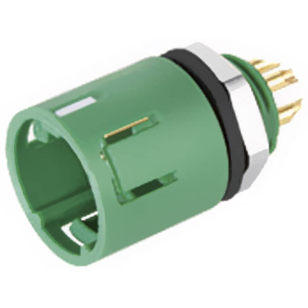 Mini okrogli konektor z barvno oznako Binder serije 620, 999227 070 08, 1 A, poli: 8 99 9227 070 08