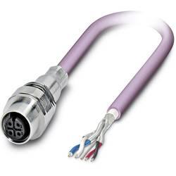 Sensor/ställdon-kontaktdon M12 Hona inbyggd 2 m Antal poler (RJ): 5 Phoenix Contact 1525694 SACCEC-M12FS-5CON-M16/ 2,0-920 1 st