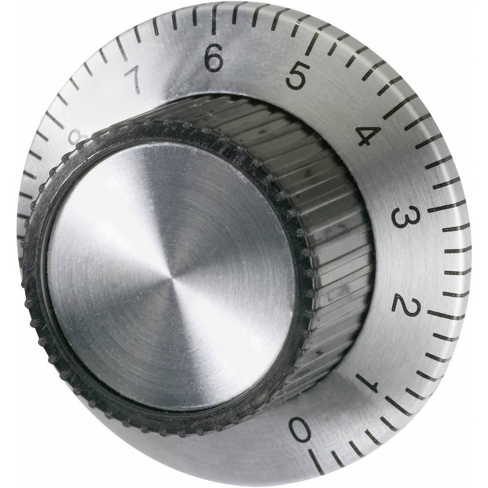 Univerzalni gumb za uređaje sljestvicom eloksiran aluminijpromjer osi 7