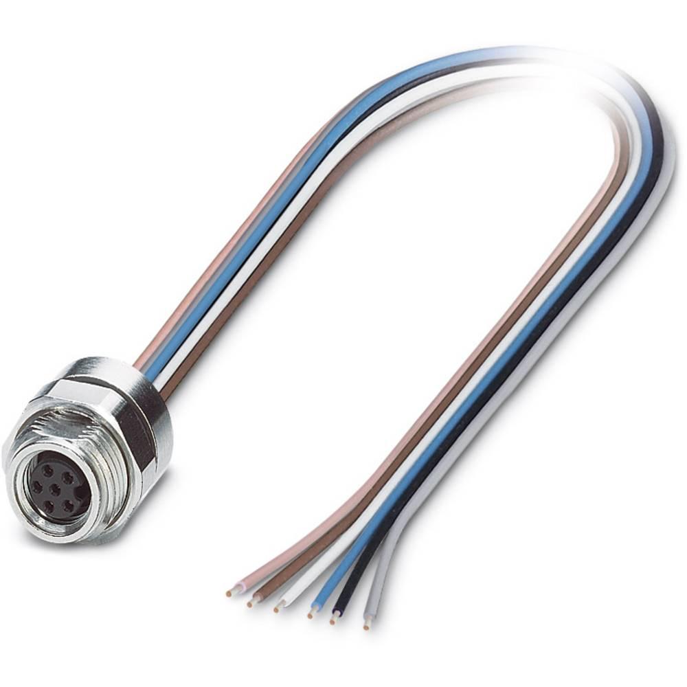 SACC-DSI-M 8FS-6CON-M12/0,5 - vgradni vtični konektor, SACC-DSI-M 8FS-6CON-M12/0,5 Phoenix Contact vsebuje: 1 kos