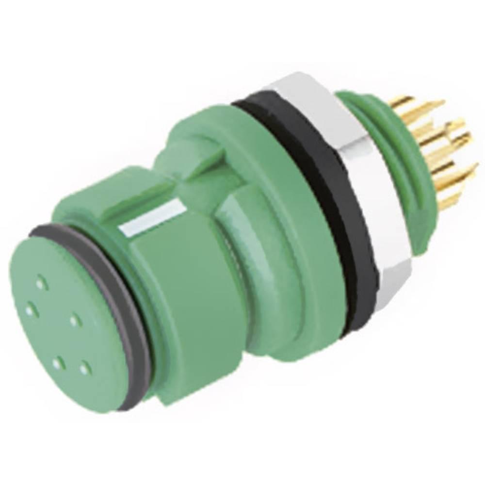 Mini okrogli konektor z barvno oznako Binder serije 620, 999212 070 04, 2,5 A, poli: 4 99 9212 070 04