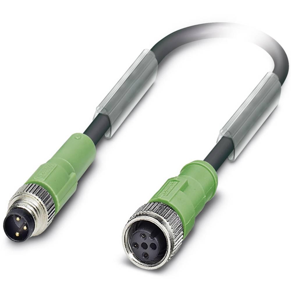 Sensor-, aktuator-stik, Phoenix Contact SAC-3P-M 8MS/3,0-PUR/M12FS 1 stk