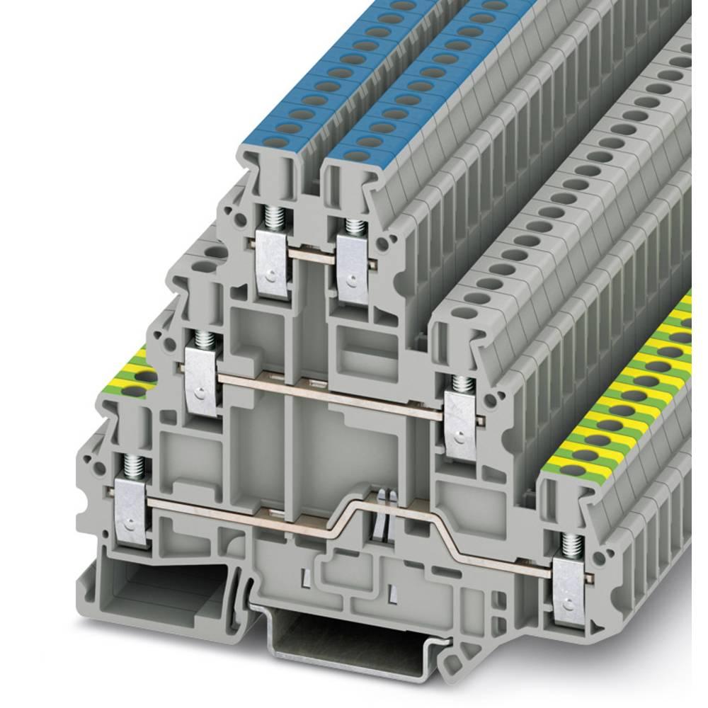 UT 2,5-PE / L / N - multi-level terminal Phoenix Contact UT 2,5-PE/L/N Grå 50 stk