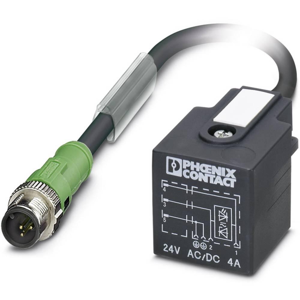Senzorski/aktuatorski kabel SAC-3P-M12MS/5,0-PUR/A-1L-Z Phoenix Contact vsebuje: 1 kos