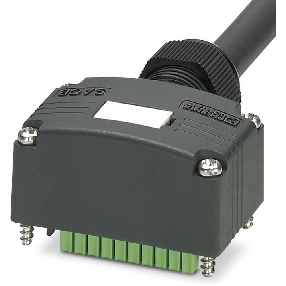 Sensor/aktorbox passiv Tilslutningshætte med ledning SACB-C-H180-8/ 8-10,0PUR SCO P 1453180 Phoenix Contact 1 stk
