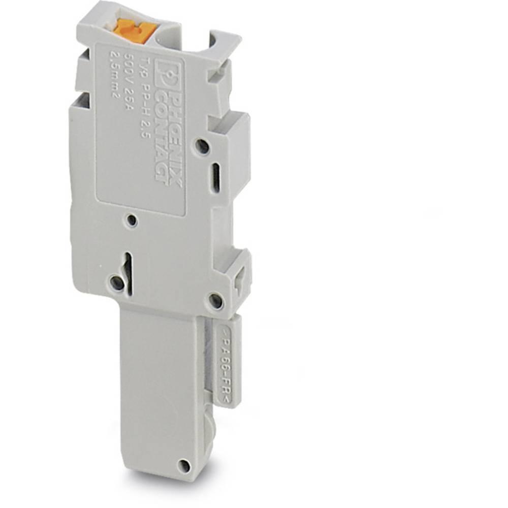 PP-H 1,5 / S / 1-R - Plug Phoenix Contact PP-H 1,5/S/1-R Grå 50 stk