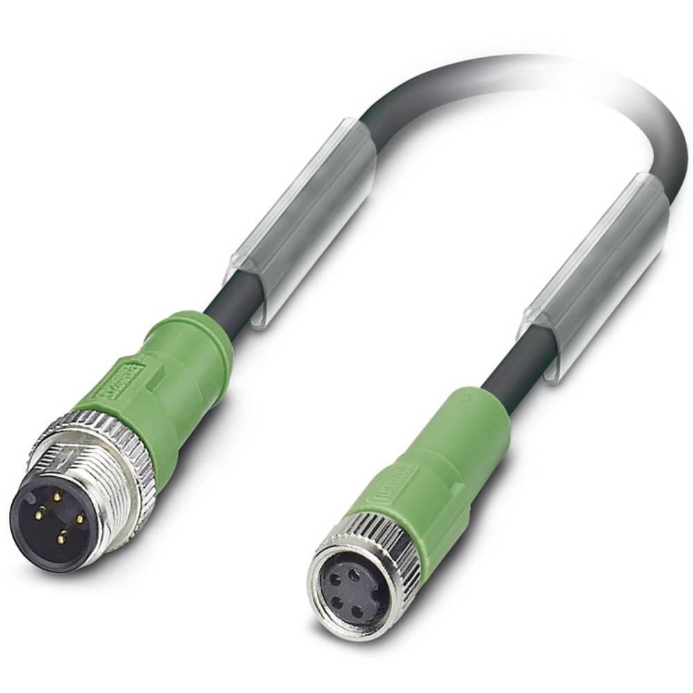 Sensor-, aktuator-stik, Phoenix Contact SAC-4P-M12MS/1,5-PUR/M 8FS 1 stk