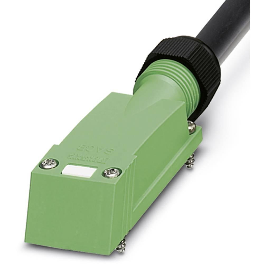 Sensor/aktorbox passiv Tilslutningshætte med ledning SACB-C-H180- 8/3-10,0PUR-M8 1516344 Phoenix Contact 1 stk