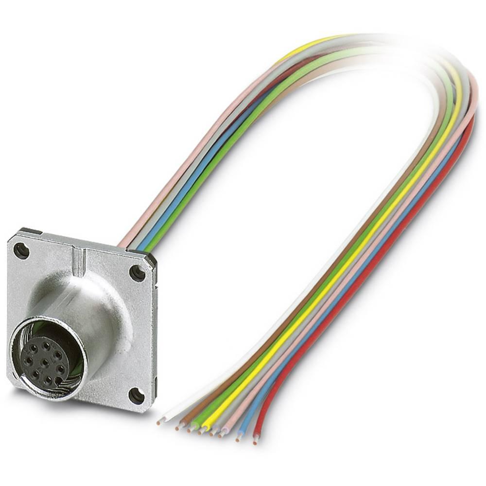 SACC-SQ-M12FS-8CON-20/0,5 - vgradni vtični konektor, SACC-SQ-M12FS-8CON-20/0,5 Phoenix Contact vsebuje: 1 kos