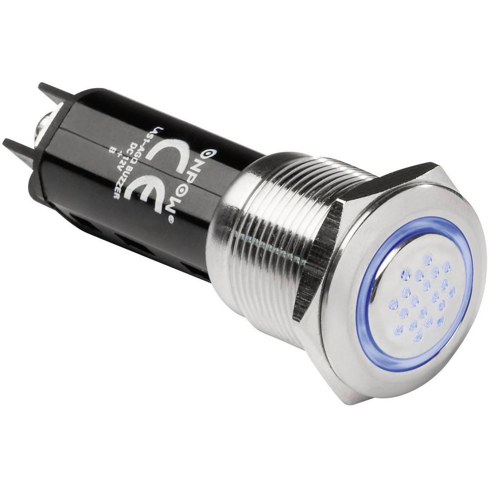 Alarm (value.1782094) Støjudvikling: 80 dB Spænding: 12 V Intervallyd (value.1730256) TRU COMPONENTS 718803 1 stk