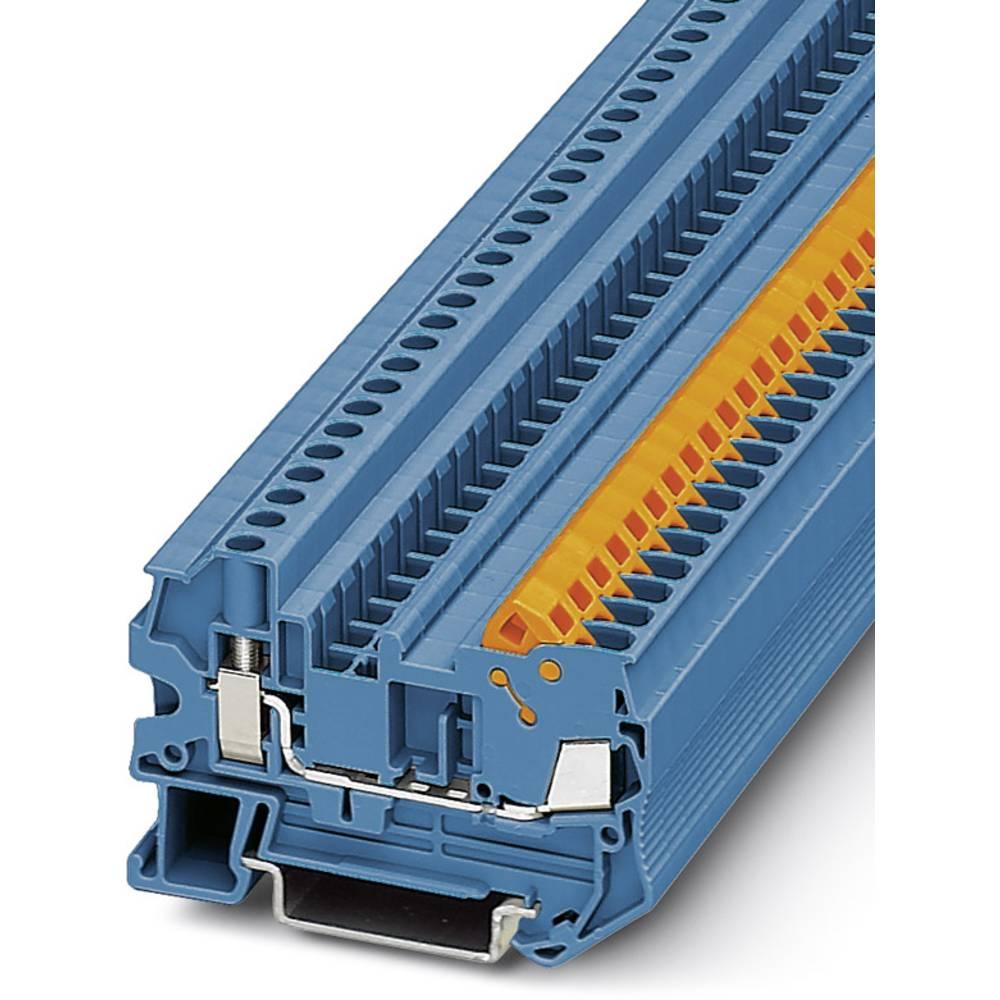 QTCU 2.5 BU - gennem terminal Phoenix Contact QTCU 2,5 BU Blå 50 stk