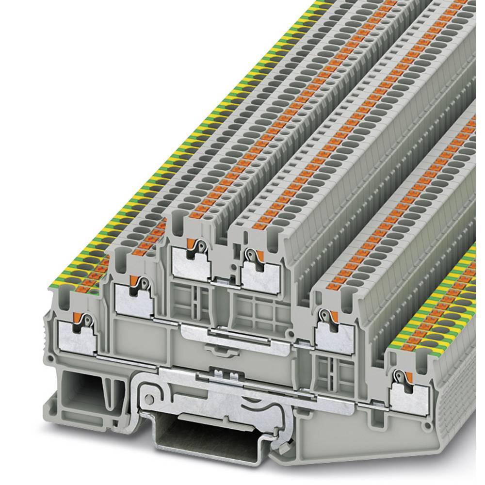 Multi-level terminal block PT 1,5/S-PE/L/L Phoenix Contact PT 1,5/S-PE/L/L Grå 50 stk