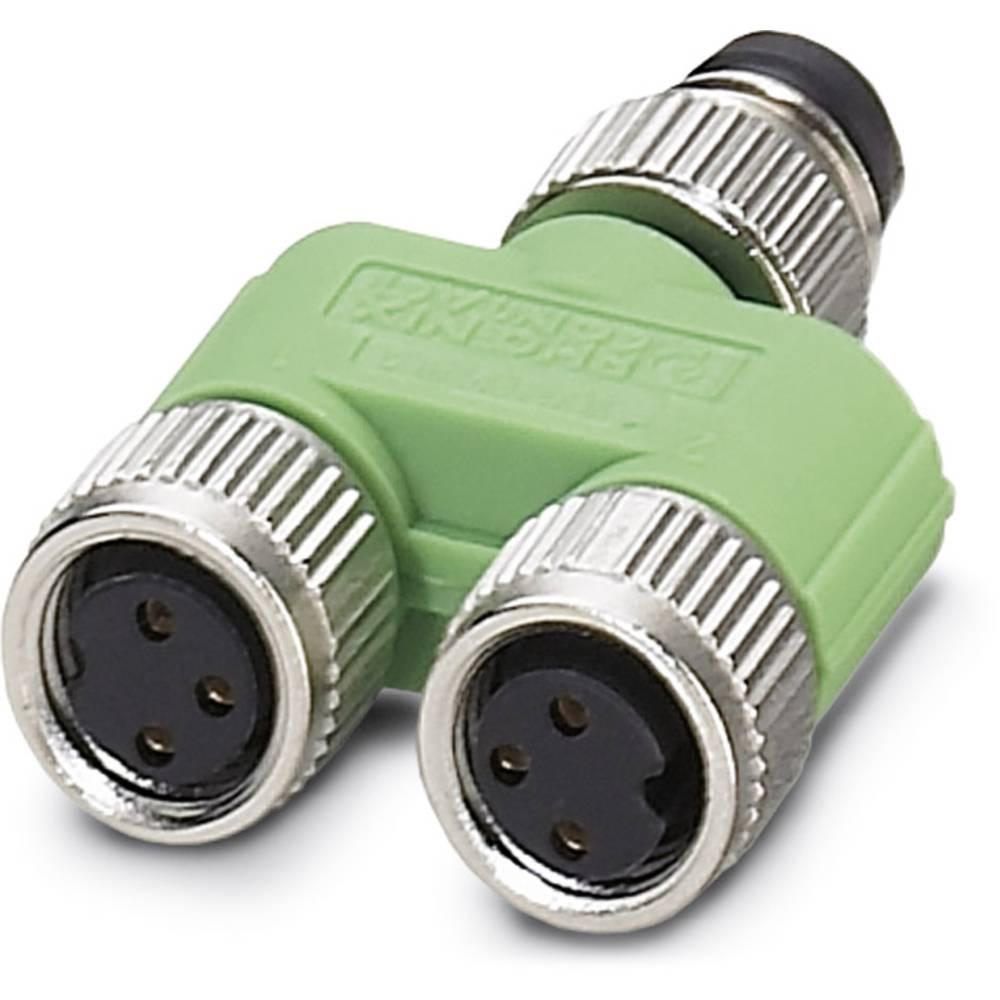 Sensor-/Aktor-Verteiler ARC adapter Phoenix Contact SAC-3P-M 8Y/2XM 8FS VP 5 stk
