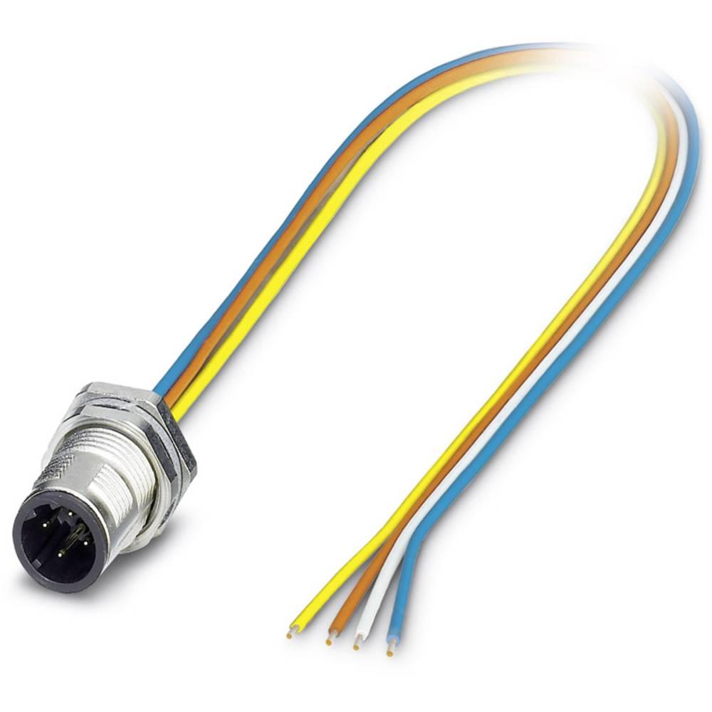 SACC-DSI-MSD-4CON-M12/0,5 SCO - S-bus-vgradni vtični konektor, SACC-DSI-MSD-4CON-M12/0,5 SCO Phoenix Contact vsebuje: 1 kos