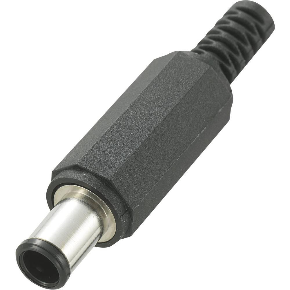 Lavspændingsstik Stik, lige 6.5 mm 1.4 mm Conrad Components 1 stk