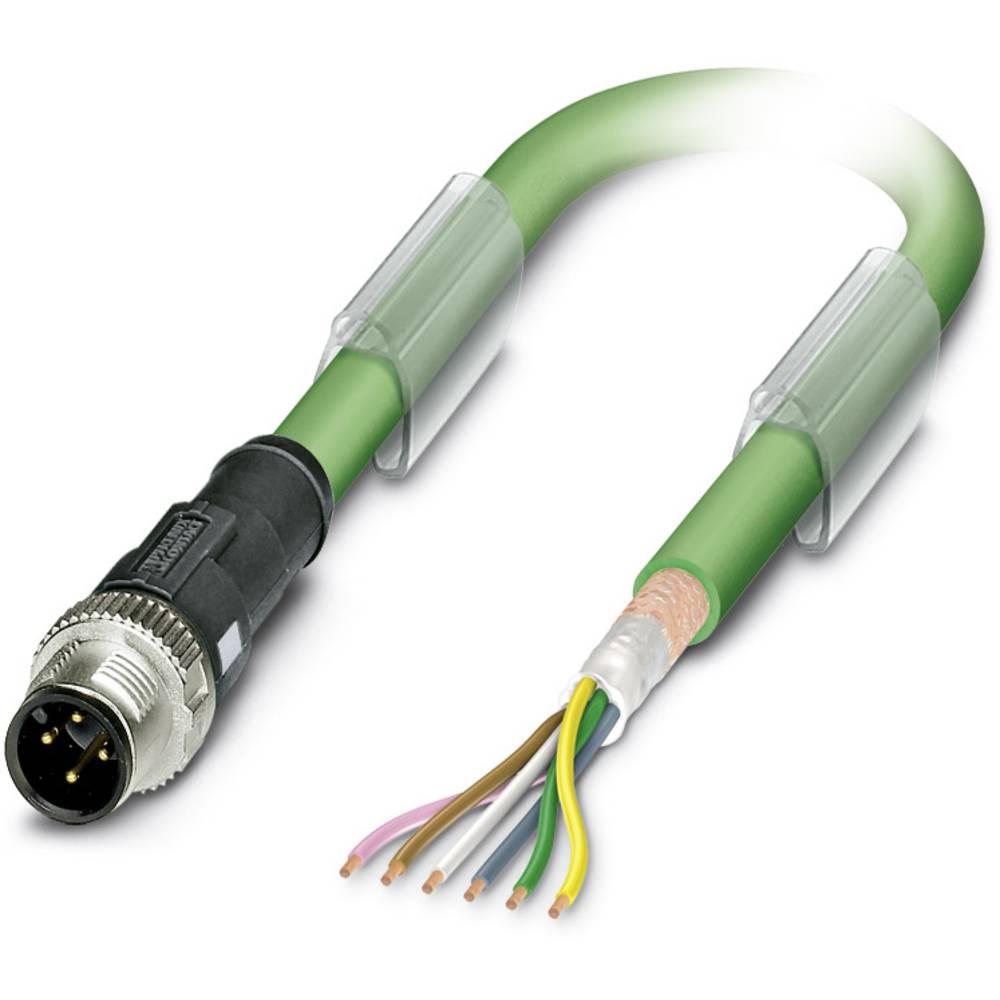 Sensor- /aktor- -datastikforbindelse, konfektioneret Phoenix Contact SAC-5P- 2,0-900/M12FSB 1 stk