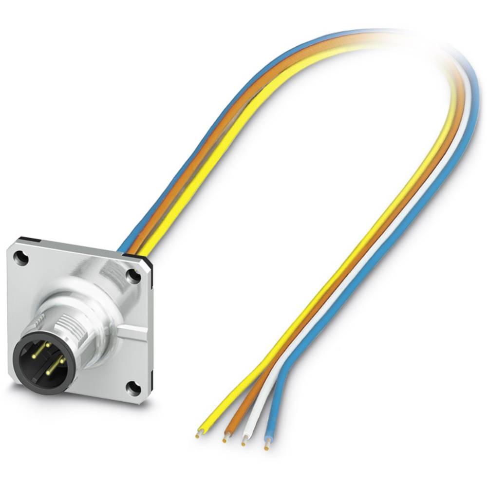 SACC-SQ-M12MSD-4CON-25F/0,5 - vgradni vtični konektor, SACC-SQ-M12MSD-4CON-25F/0,5 Phoenix Contact vsebuje: 1 kos