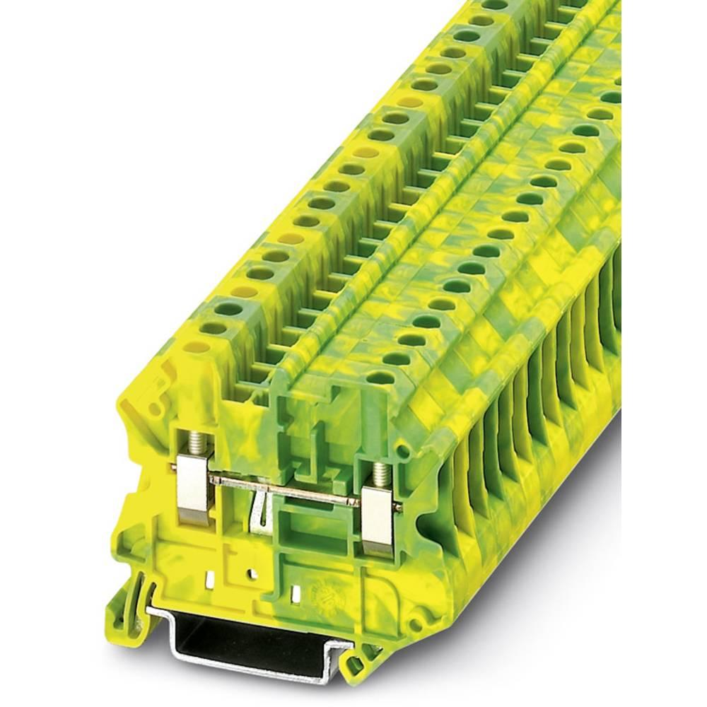 UT 4-MTD-PE - gennem terminal Phoenix Contact UT 4-MTD-PE Grøn-gul 50 stk