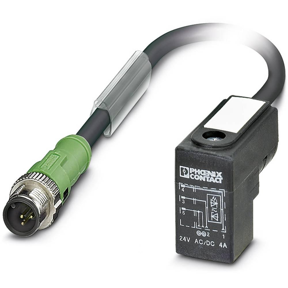 SAC-3P-M12MS/0,3-PUR/CI-1L-Z - Senzorski/aktuatorski kabel SAC-3P-M12MS/0,3-PUR/CI-1L-Z Phoenix Contact vsebuje: 1 kos