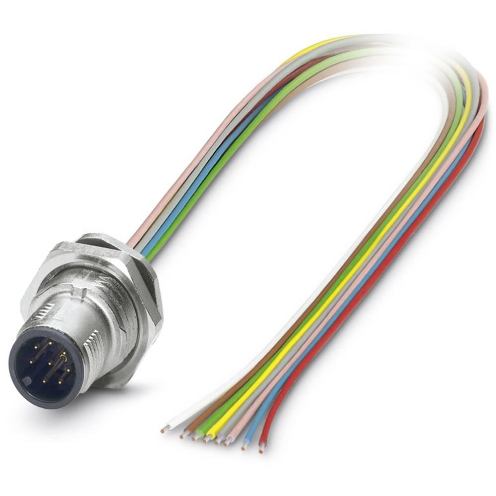SACC-DSI-M12MS-8CON-M16/0,5 - vgradni vtični konektor, SACC-DSI-M12MS-8CON-M16/0,5 Phoenix Contact vsebuje: 1 kos