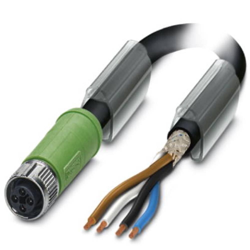 Sensor- /aktor-tilslutningsledning Phoenix Contact SAC-4P-FST/ 5,0-PUR SH SCO 1 stk