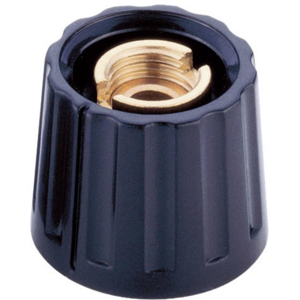 Mentor Gumb za pričvršÄ‡ivanje20 KNOEPFE serije 20 crna promjer osi 4mm 332.4