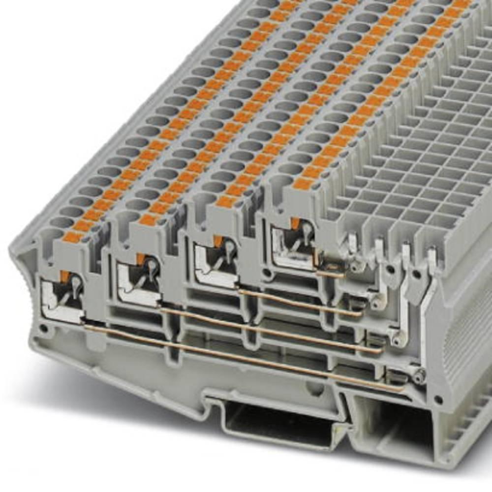PT 2,5-4L / 1P - Andre Stock-terminal Phoenix Contact PT 2,5-4L/1P Grå 50 stk