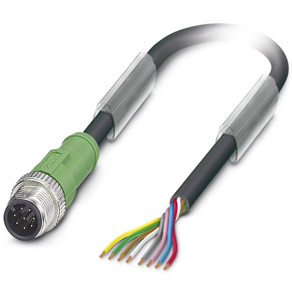 Sensor-, aktuator-stik, Phoenix Contact SAC-8P-M12MS/10,0-PUR 1 stk