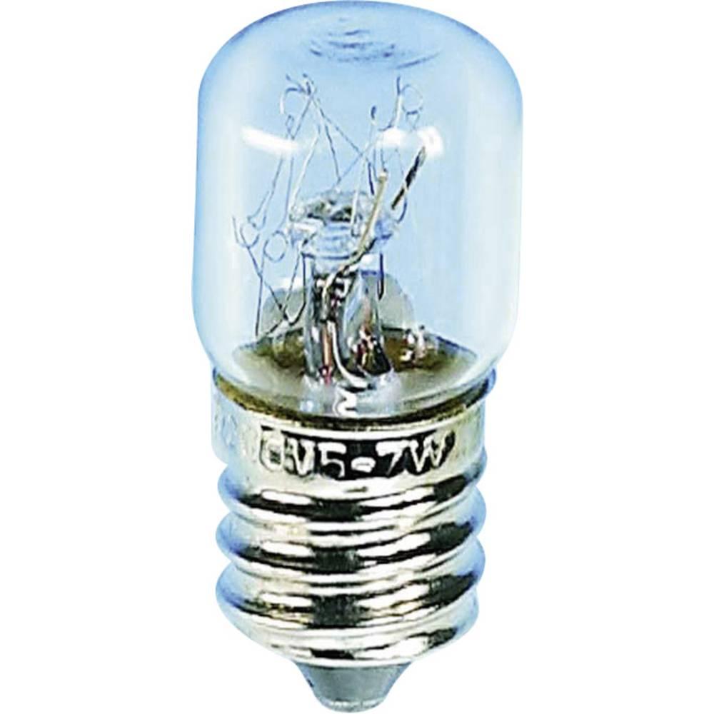 Cevasta žarnica 24 - 30 V 2 W066 mA podnožje=E14 prozorna 00253008 Barthelme