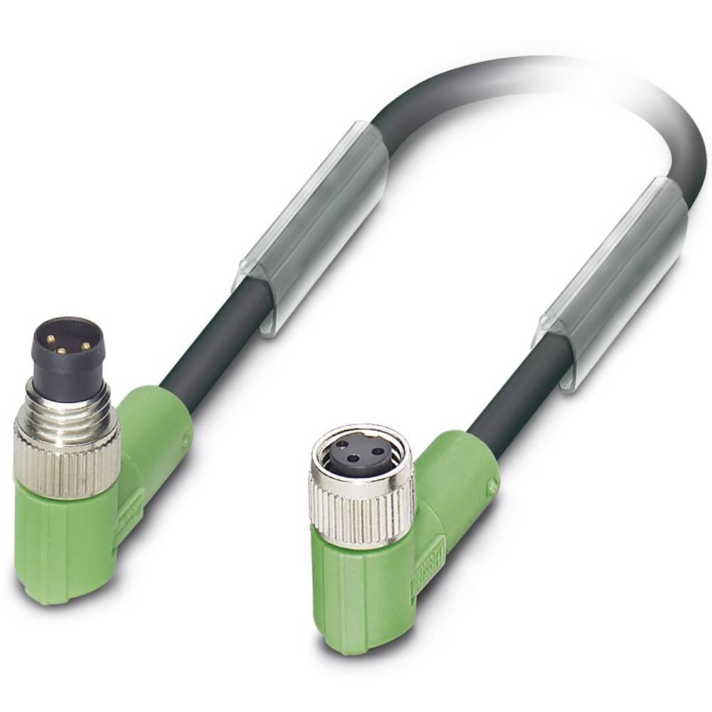 Senzorski/aktuatorski kabel SAC-3P-M 8MR/ 1,5-PUR/M 8FR Phoenix Contact vsebuje: 1 kos