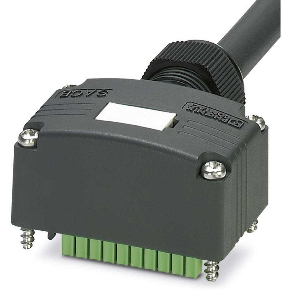 Sensor/aktorbox passiv Tilslutningshætte med ledning SACB-C-H180-4/ 8-10,0PUR SCO P 1453096 Phoenix Contact 1 stk