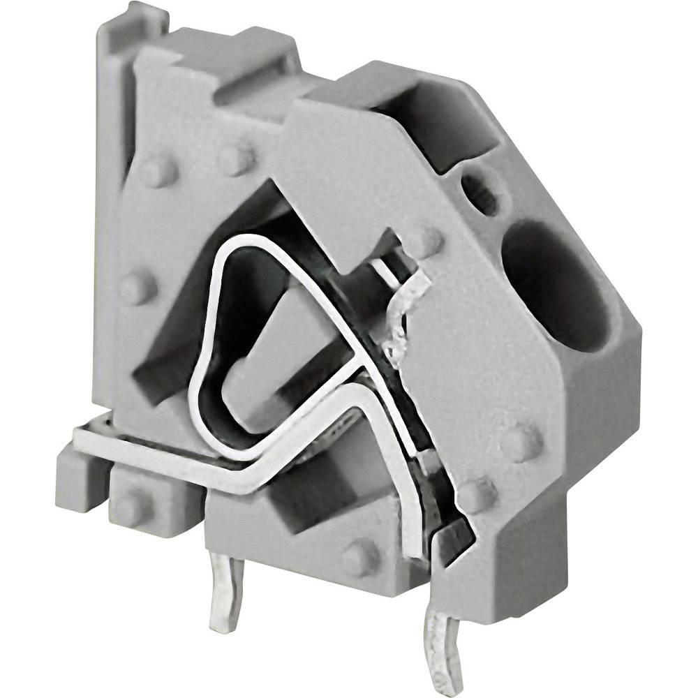 Fjederkraftsklemmeblok WAGO 16.00 mm² Poltal 2 Grå 1 stk