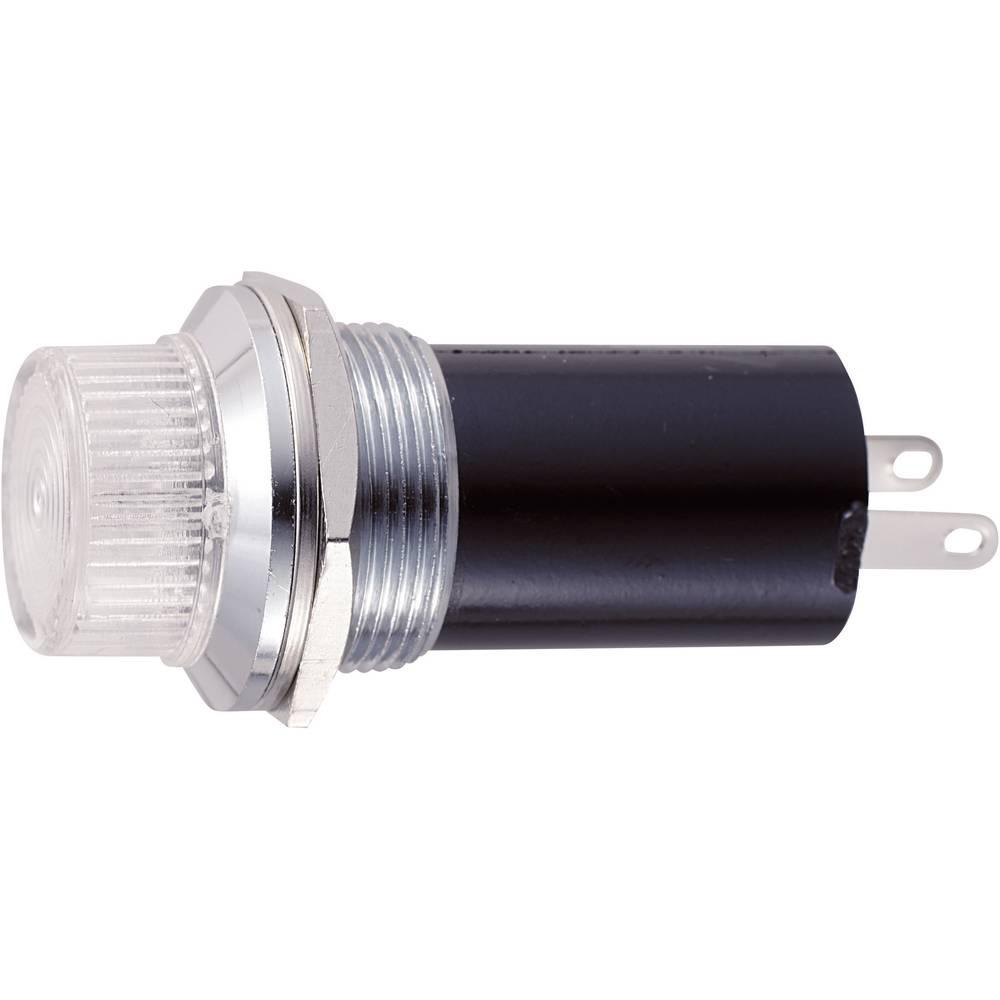 Signalna luč - tip E-10 12 V/AC podnožje=E10 čista Sedeco vsebina: 1 kos