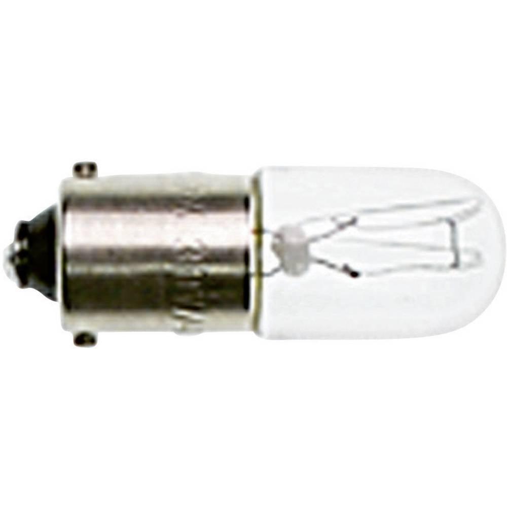 Žarnica 110 - 130 V 2 W 0.018 A podnožje: BA9s brezbarvna RAFI vsebina: 1 kos