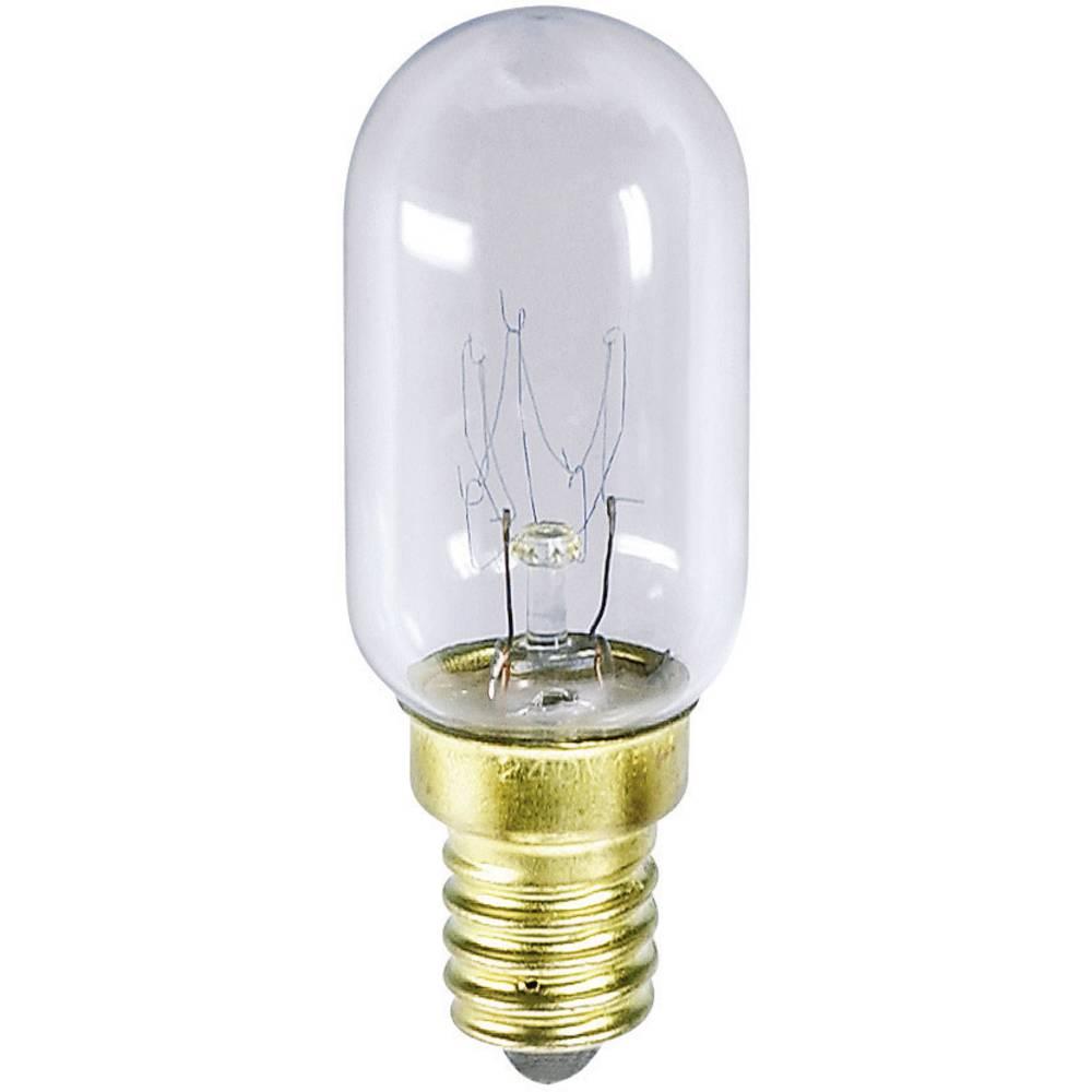 Cevasta žarnica 235 V 15 W 63 mA podnožje=E14 prozorna Barthelme vsebina: 1 kos