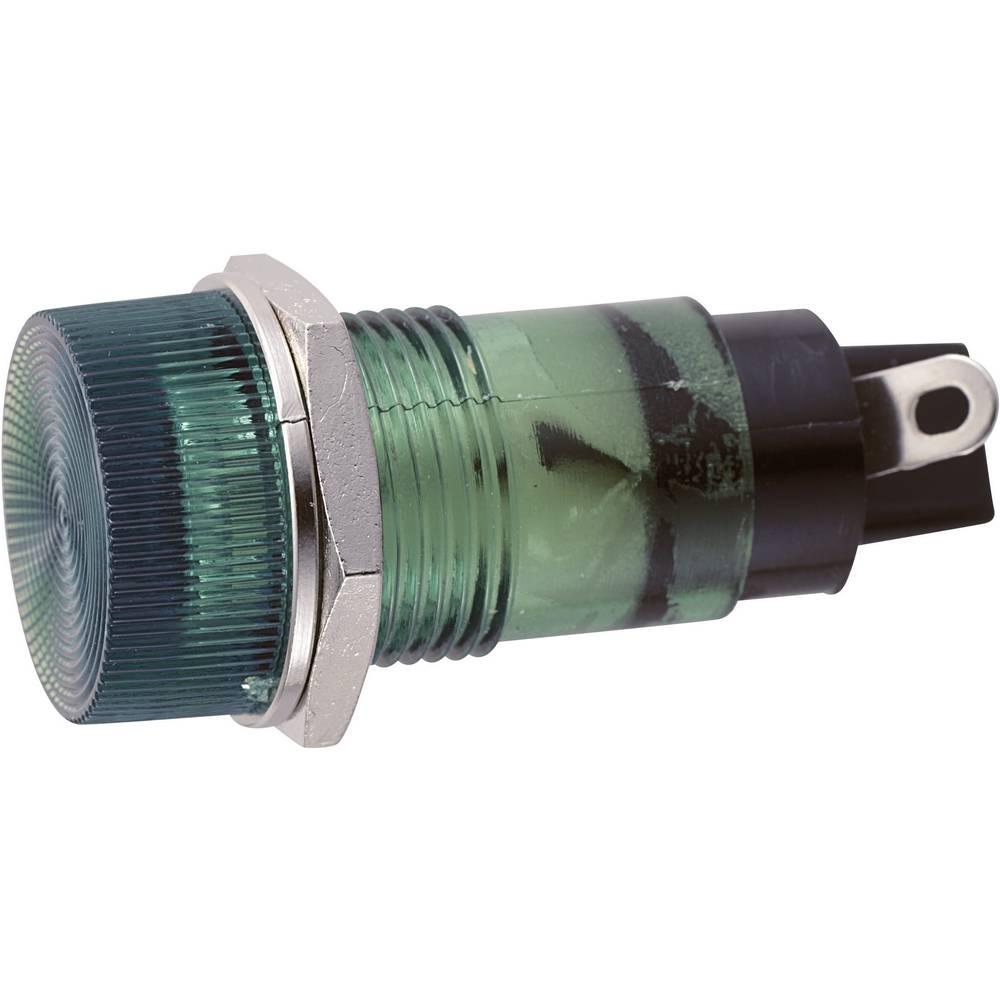 Signalno svjetlo 12 V/AC zelena Sedeco sadržaj: 1 kom.