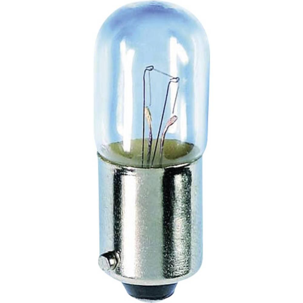 Majhna cevasta žarnica 24 V 3 W 125 mA podnožje=BA9s jasna Barthelme vsebina: 1 kos