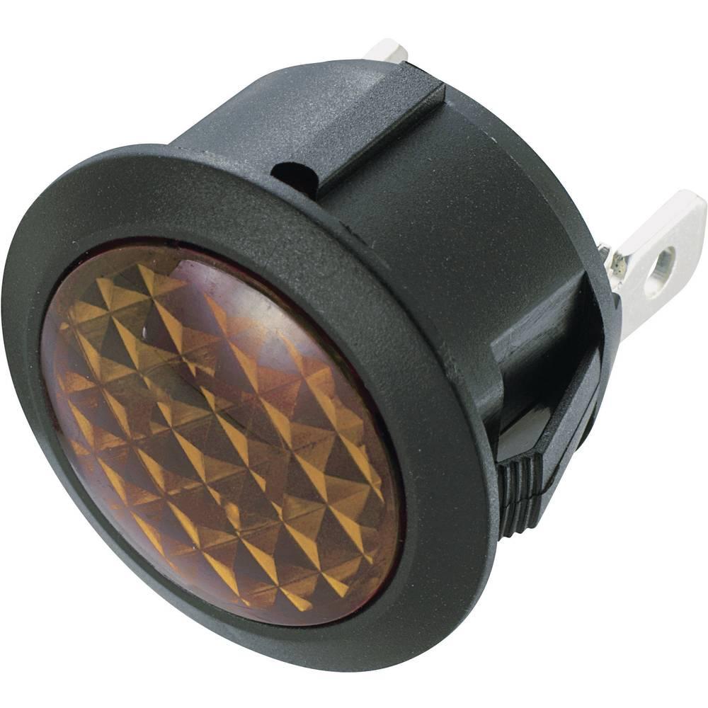 Neonska signalna svjetiljka 230 V/AC žuta SCI sadržaj: 1 kom.